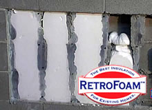 RetroFoam Wall Insulation
